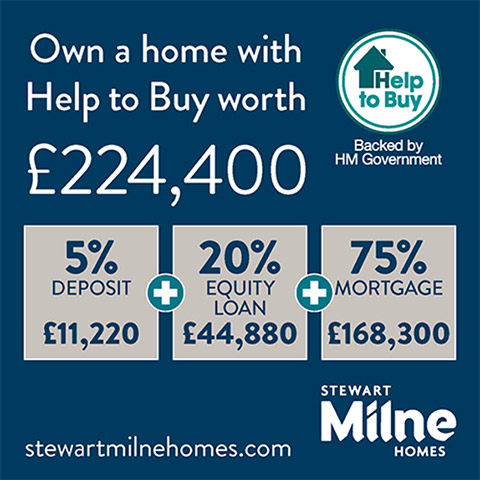 Own a home with Help to Buy